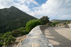 Trayectoria en la naturaleza en Marbella Imagen de archivo
