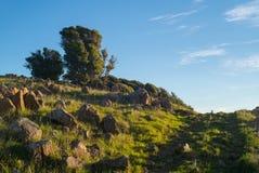Trayectoria Ring Mountain Sunrise Fotografía de archivo libre de regalías