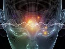 Trayectorias de la mente ilustración del vector