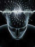 Trayectorias de la mente humana stock de ilustración