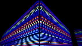 Trayectorias ligeras no lineales Imagen de archivo