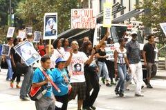 Trayvon Martin march Royalty Free Stock Photography