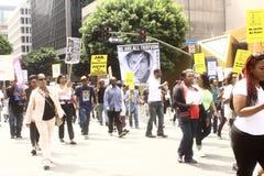 Trayvon Martin march Stock Photo