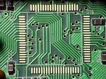 Trazado de circuito Imagen de archivo