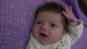 Trazado recién nacido del bebé