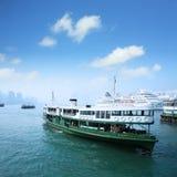 Trazador de líneas de pasajero en Hong-Kong Fotografía de archivo