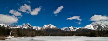 trbsk pleso озера стоковое фото