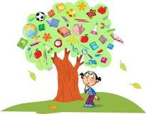 Träd av kunskap Royaltyfri Bild