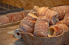 Trdelnik, czech cuisine Royalty Free Stock Photo