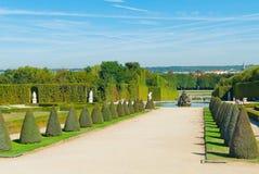 Trädgårdar av Versailles Arkivbild
