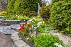 Trädgårdprydnader Arkivfoto