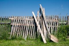 trädgårds- gammalt för staket Fotografering för Bildbyråer