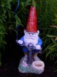 trädgårds- gnome Arkivfoto