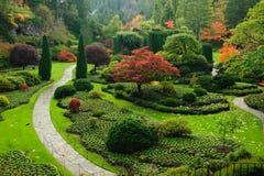Trädgårds- landskap Royaltyfria Foton