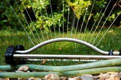 Trädgårds- sprinkler Royaltyfri Foto