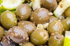 Broken Olives tsakistes Royalty Free Stock Photography