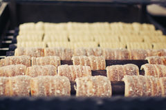 Trdlo - традиционная чехословакская хлебопекарня стоковые фото