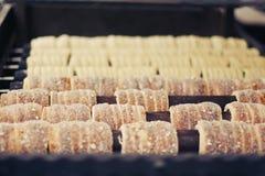 Trdlo - tradycyjna czeska piekarnia Zdjęcia Stock