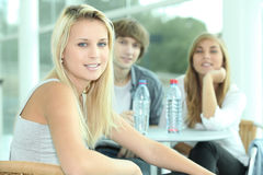 Tre adolescenti Fotografia Stock Libera da Diritti