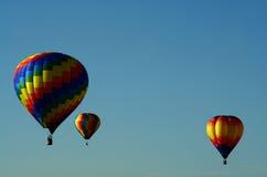 Tre aerostati Immagini Stock Libere da Diritti