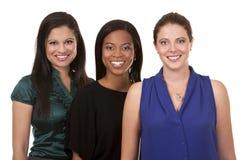Tre affärskvinnor Arkivbilder