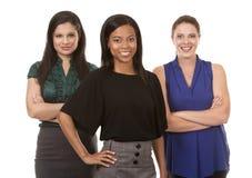 Tre affärskvinnor Royaltyfri Fotografi