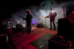 Tre allegri ragazzi morti in concert Stock Images