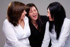 Tre amici Fotografie Stock