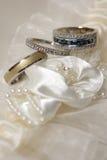 Tre anelli fotografie stock
