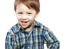 tre anni del ragazzo Immagini Stock Libere da Diritti