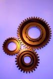 Tre attrezzi d'acciaio immagine stock