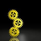 Tre attrezzi equilibrati insieme Immagini Stock Libere da Diritti