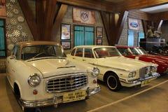Tre automobili fotografia stock