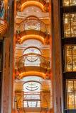 Tre balconi di Chrome Immagini Stock Libere da Diritti