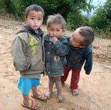 Tre bambini Fotografia Stock Libera da Diritti