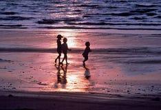 Tre bambini Fotografie Stock Libere da Diritti