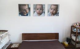 Tre bambini dei ritratti Fotografia Stock