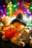 Tre bambole dell'orso Immagine Stock