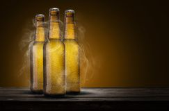 Tre birre fotografie stock