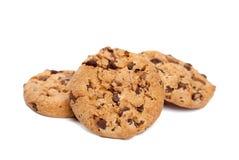 Tre biscotti Immagini Stock Libere da Diritti