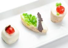 Tre biscotti dolci Immagine Stock Libera da Diritti