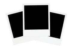 Tre blocchi per grafici antiquati della foto Fotografia Stock