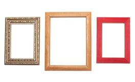 Tre blocchi per grafici per fotographia Fotografia Stock Libera da Diritti