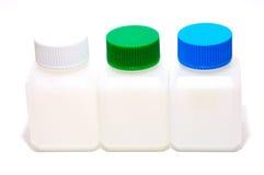 Tre bottiglie Immagine Stock Libera da Diritti