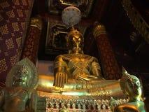 TRE BUDDHA, Thailand Arkivfoto
