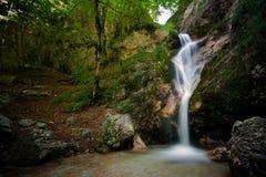 Tre Cannelle Wasserfall III Stockbild
