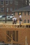 Tre carpentieri immagini stock libere da diritti