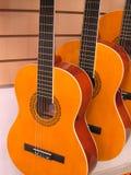 Tre chitarre Fotografia Stock