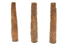 Tre cigarrer Royaltyfri Fotografi