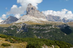 Tre Cime Royalty Free Stock Image